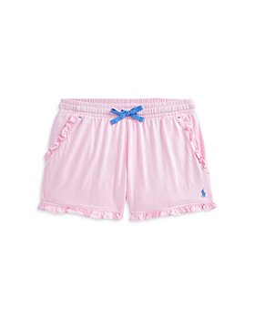 Ralph Lauren - Girls' Ruffle Shorts - Little Kid, Big Kid