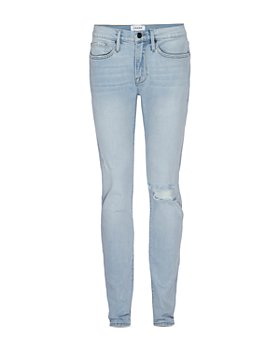 FRAME - L'Homme Ripped Skinny Jeans