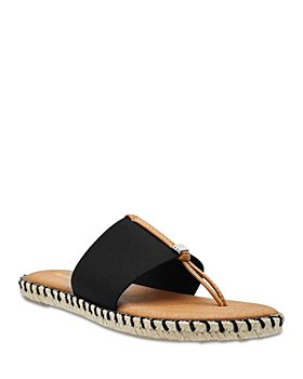 Andre Assous - Women's Elle Stretchy Espadrille Thong Sandals