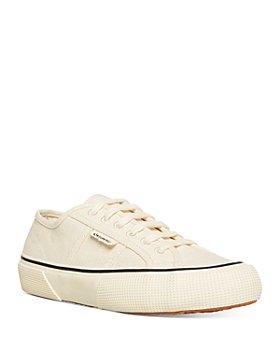 Superga - Women's Organic Cotton Canvas Low Top Sneakers
