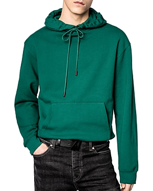 Zadig & Voltaire Cottons STORM PHOTOPRINT GRAPHIC HOODIE