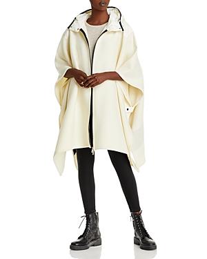 Moncler Mantella Hooded Cape Jacket