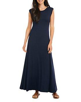 Karen Kane - V Back Knit Maxi Dress