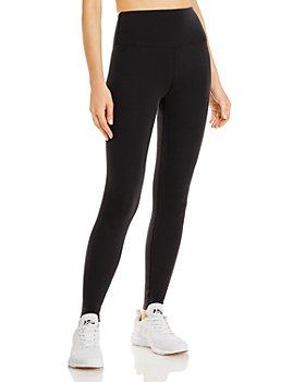 Alo Yoga - High Waist Waffle Knit Leggings