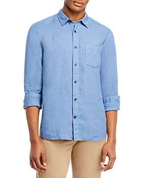 Vince - Slim Fit Linen Coastal Shirt