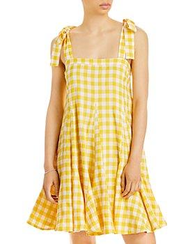 AQUA - Picnicker Fit-and-Flare Mini Dress - 100% Exclusive