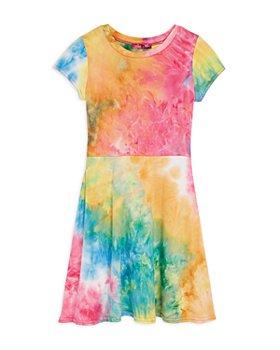 AQUA - Girls' Tie Dye Fit & Flare Dress - Big Kid - 100% Exclusive