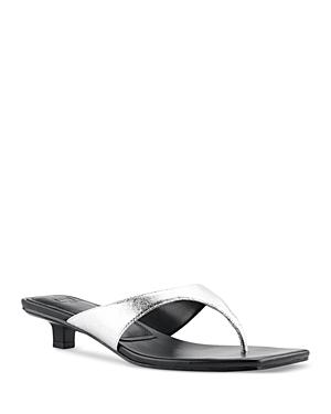 Women's Faren Square Toe Thong Sandals