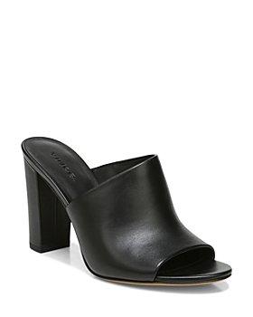 Vince - Women's Hanna Asymmetrical Leather High Heel Sandals