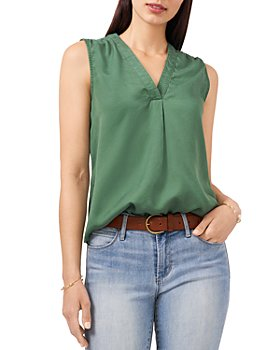 VINCE CAMUTO - V Neck Sleeveless Top