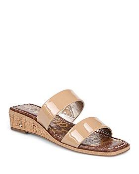 Sam Edelman - Women's Vena Slip On Wedge Sandals