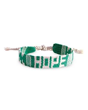 Message Woven Bracelet