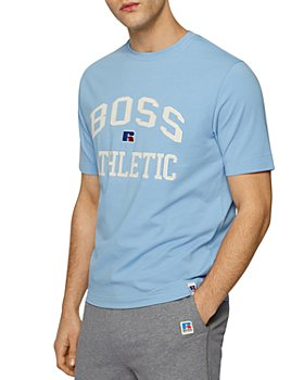 BOSS - X Russell Athletic Logo Relaxed Crewneck Tee