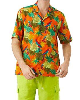 Vilebrequin - Charli Parrot Print Short Sleeve Shirt