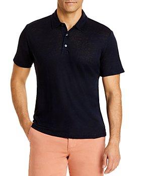 Vince - Linen Regular Fit Polo Shirt