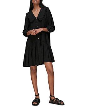 Whistles - Ruffle Collar Trapeze Mini Dress