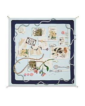 Tory Burch - Gardening Mood Board Silk Square Scarf