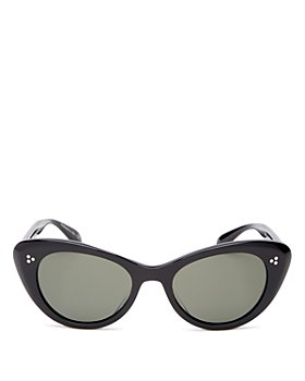 Oliver Peoples - Women's Polarized Cat Eye Sunglasses, 51mm