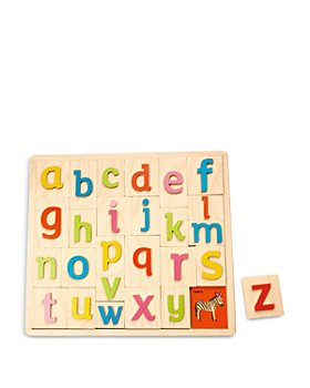Tender Leaf Toys - Alphabet Pictures Wooden Toy - Ages 18M+