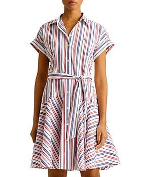 Ralph Lauren - Striped Belted Shirt Dress