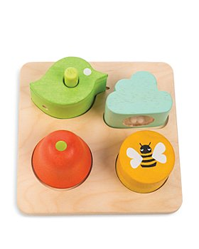 Tender Leaf Toys - Audio Sensory Trays Wooden Toys - Ages 18M+