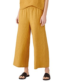 Eileen Fisher - Organic Linen Wide Leg Pants