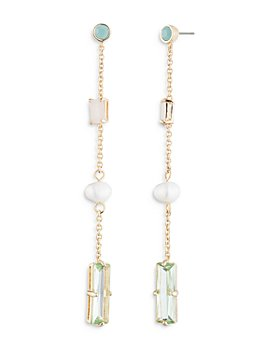 Ralph Lauren - Imitation Pearl Linear Drop Earrings