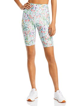 Alice and Olivia - Aaron Floral Biker Shorts
