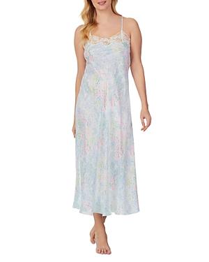 Sleeveless Satin Nightgown