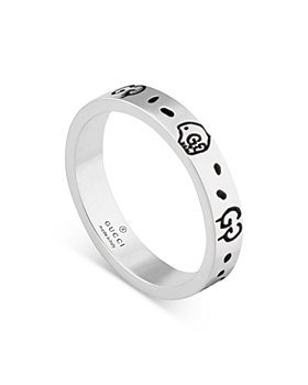 Gucci - Sterling Silver Ghost Ring