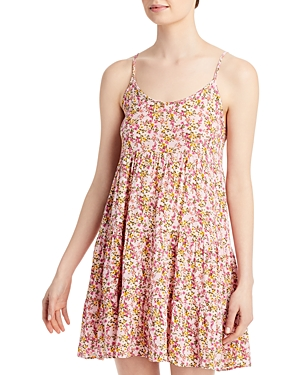 Floral Tiered Tank Dress (59% off)