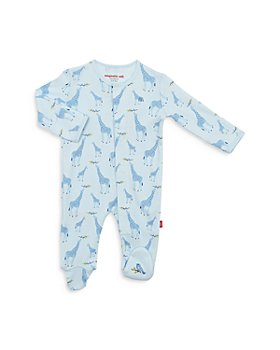 MAGNETIC ME - Unisex Cotton Giraffe Footie - Baby