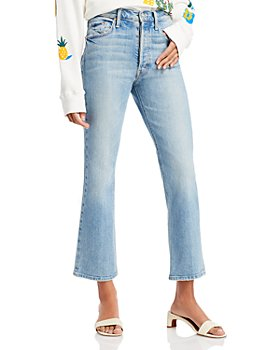 MOTHER - Tripper Cropped Flared Jeans in I Confess