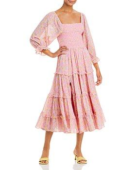 LoveShackFancy - Capri Midi Dress