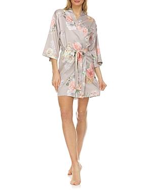 Arisa Charmeuse Kimono Robe