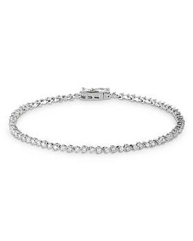 Bloomingdale's - Diamond Bracelet in 14K White Gold, 1.0 ct. t.w - 100% Exclusive