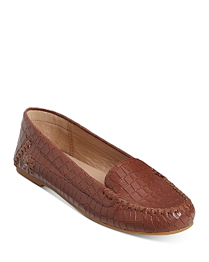 Women's Millie Embossed Leather Moccasins