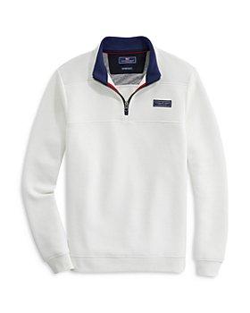 Vineyard Vines - Saltwater Fleece Quarter Zip Sweater