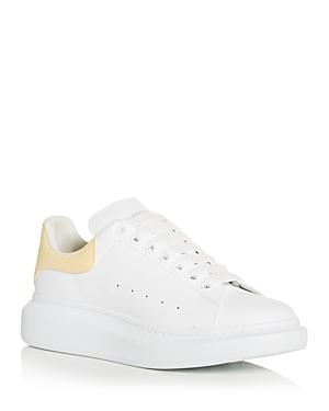 Alexander McQUEEN Men's Oversized Suede Heel Detail Sneakers