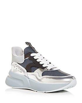 Alexander McQUEEN - Men's Oversized Runner Low Top Sneakers