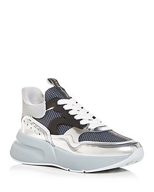 Alexander McQUEEN Men's Oversized Runner Low Top Sneakers