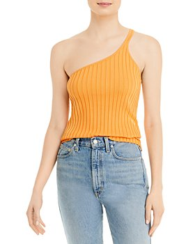 FORE - Ribbed One-Shoulder Tank
