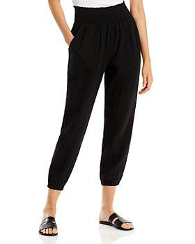 AQUA - Cotton Gauze Pull On Jogging Pants - 100% Exclusive