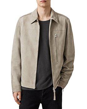 ALLSAINTS - Eadric Suede Regular Fit Jacket