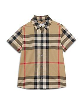 Burberry - Boys' Owen Check Button Down Shirt