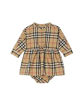 Burberry - Girls' Elaine Vintage Check Dress & Bloomers - Baby