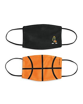 Twelve NYC - Basketball and Marvin the Martian Kids Face Masks, Set of 2