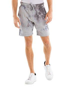 Original Paperbacks - Crystal Tie Dye Fleece Shorts