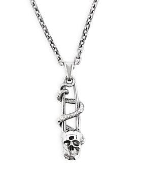 Alexander McQUEEN - Skull Safety Pin Necklace