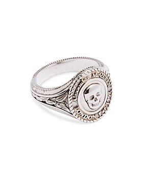 Alexander McQUEEN - Skull Medallion Signet Ring